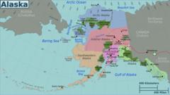 Alaska Regions Map