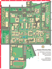 California Institute of Technology Campus Map 1