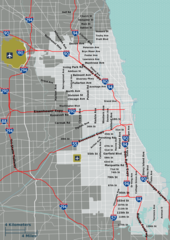 Chicago Overview Map