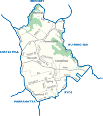Epping City Map