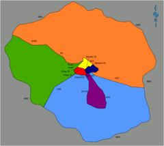 Manchester District Map