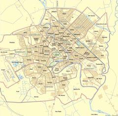 Map Of Baghdad Neighborhoods