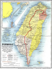 Map of Formosa 1901