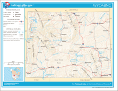 Map of Wyoming Na 1