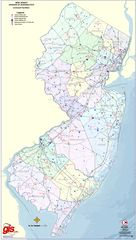 New Jersey Airports Map