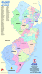 New Jersey Districts Map