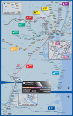 New Jersey Metro System Map (subway)