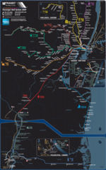 New Jersey Rail System Map
