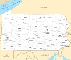 Pennsylvania Cities And Towns