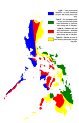 Philippine Climate Map
