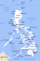 Philippines General Map