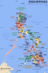 Philippines Regions And Provinces