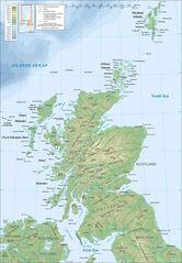 Scotland Topographic Map 3