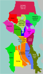 Seattle Overview Map