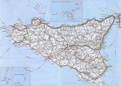 Sicily Detailed Map