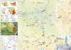 South Sudan Map Detailed