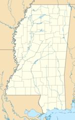 Usa Mississippi Location Map
