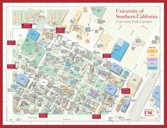 University of Southern California Campus Map