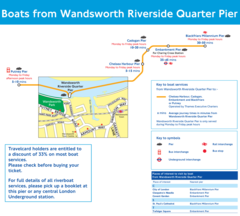 Wandsworth Pier Route Map