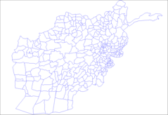 Afghanistan Districts