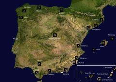 Airports Spain