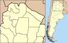 Argentina  Situation Map  Noroeste