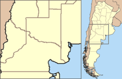 Argentina  Situation Map  Pampa Y Norpatagonia