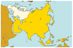 Asia Continents