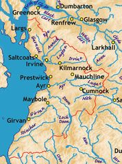 Ayrshire Rivers Some Towns