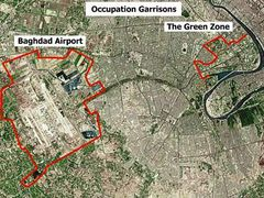 Baghdad   Airport And Green Zone
