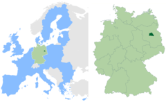 Berlin In Germany And Eu 1