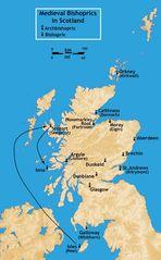 Bishoprics Scotland Medieval