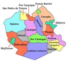 Bolivia Department of Oruro