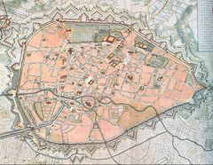 Brussels Map Rouge1745