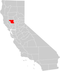 California County Map (colusa County Highlighted)
