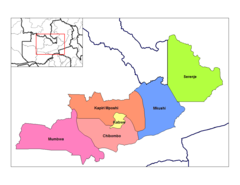 Central Zambia Districts