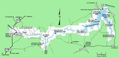 Charles M Russell National Wildlife Refuge Map