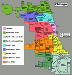 Chicago Community Areas Map