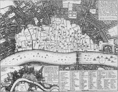 City Historical Map of London