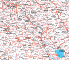 City Map of Florence (firenze)