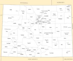 Colorado Cities And Towns