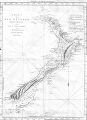 Cook Chart of New Zealand
