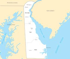 Delaware Cities And Towns