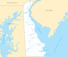 Delaware Rivers And Lakes