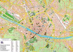 Detailed City Map of Florence (firenze)