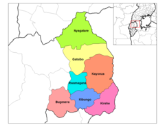 East Province Districts