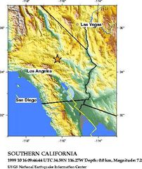 Hector Mine Earthquake 1999 Oct 16 Usgs Map