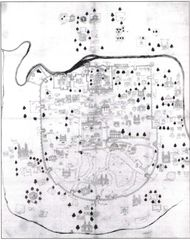 Historical Map of Ahmedabad