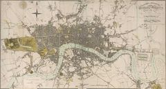 Historical Map of London