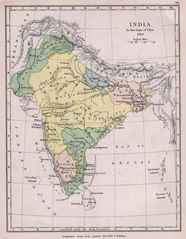 Historical Maps India In 1760